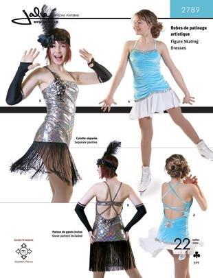 b3497ce6cc Jalie Figure Skating Dancing Dresses Flapper Dress Costume Sewing ...