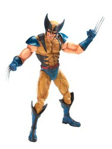 X-men - 12 Inch Poseable Wolverine (MASKED VARIANT) Rotocast Figure (Wolverine 12