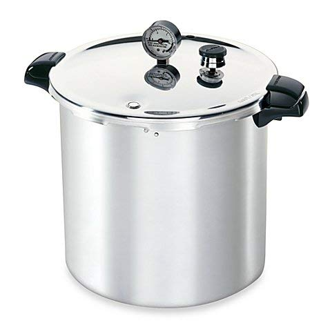 - Presto Aluminum 23-Quart Pressure Canner and Cooker