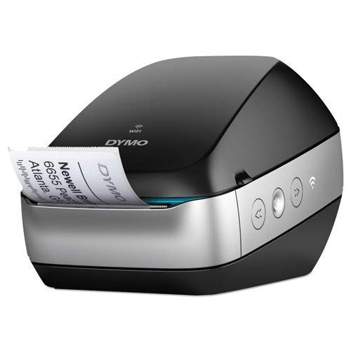 Dymo 2002150 LabelWriter Wireless Black Label Printer, 71 Four-line - Software Dymo Maker Label