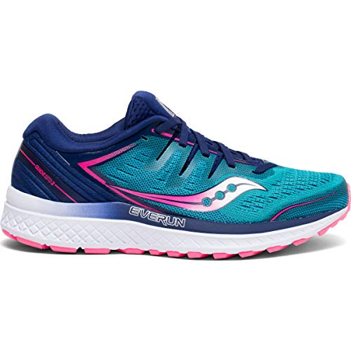 Saucony Guide ISO 2 Teal/Pink 9.5 B (M)
