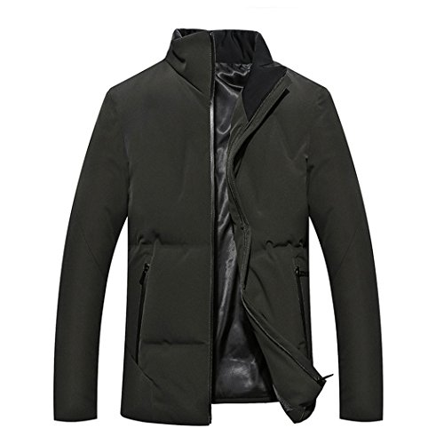 padded winter green in collar HHY Olive elderly color leisure 190 cotton and Autumn men's Znqg6