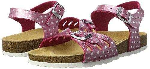 Forro pink Pink Lico Sandal silber Pantuflas Bioline Con Mujer wIYYF0p