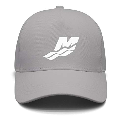 Price comparison product image Fashion Cap Adjustable Mercury Marine Water Logo White Vintage Flat Hat