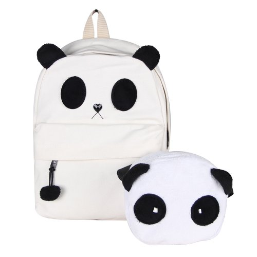 YOUR GALLERY New Fashion Cute Panda Schoolbag Backpack Shoulder Bag