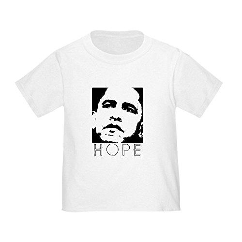 CafePress Barack Obama Cute Toddler T-Shirt, 100% Cotton White
