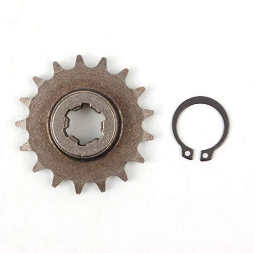 (PRO CAKEN T8F 17T Front Pinion Clutch Gear Box Chain Sprocket 47cc 49cc Dirt Bike Minimoto T8F Pitch 17 Teeth)