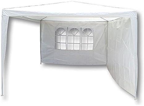 scoprega Juego de paredes para carpa para jardín (Rafia 110 gr/m². Juego Paredes para pérgola