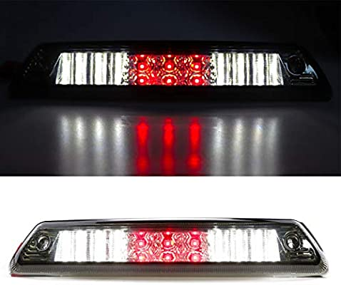 For Ford F150 LED Smoke Rear 3rd Third Stop Brake Light Cargo Lamp 2009-2014