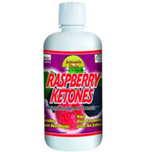 Dynamic Health Raspberry Ketones Liquid 32 Fz