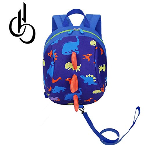 DB Dinosaur Toddler Mini Backpack with Leash, Anti-Lost Children Backpack, Kid snak Cartoon Backpack for Toddler Boys Girls 1-2 Years - Backpack Baby Outside