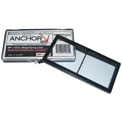 Anchor 2X4-1/4 Polycarb Mag Lens 2.00 Diopter