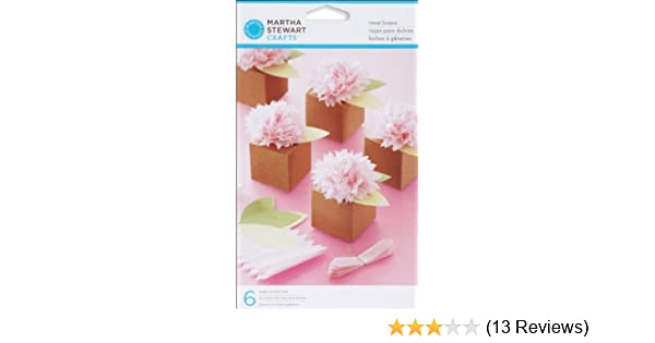 Amazon.com: Martha Stewart Crafts Pom-Pom Flower Treat Boxes: Kitchen & Dining