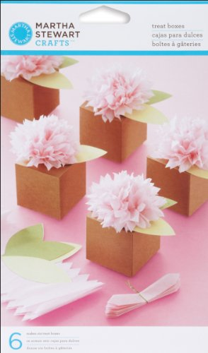 Martha Stewart Crafts Pom-Pom Flower Treat Boxes