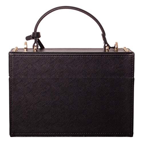 Lock BLACK Pomikaki Woody box bag fwddq6O
