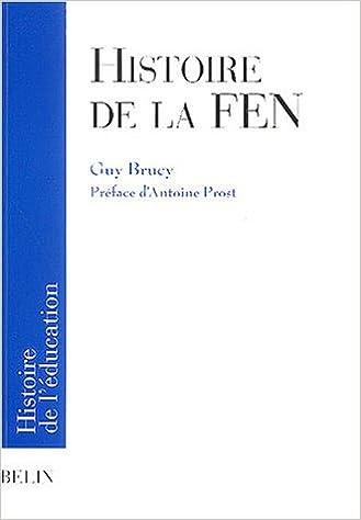 Livre Histoire de la FEN epub, pdf