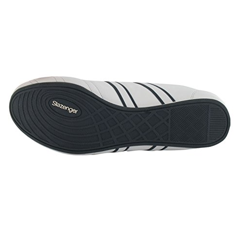 Slazenger Casual Warrior weiß Herren Sneakers Schuhe slipperturnschuhe marineblau XFX6Rqrxw