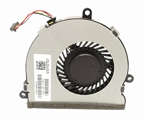 Replacement Cpu Cooling Fan for HP 250 G4 255 G4 Notebook 15-AC 15-AF Series, 4-Pin 4-Wire SPS 813946-001 by Dragon King (Image #3)