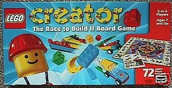 Buy Lego Creator The Race To Build It Board Game Online At Low