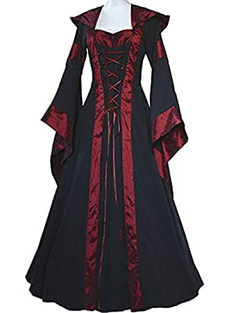 Amazon.com: ArMordy - Renaissance Women Costume Medieval ...