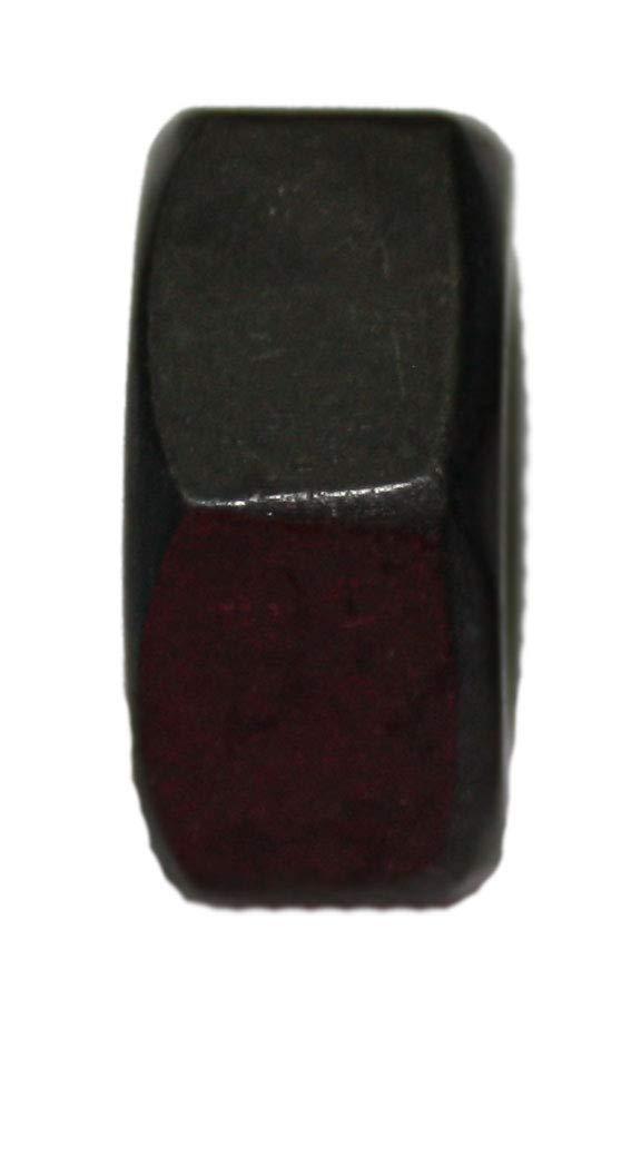 10, M8 Schwarze Sechskantmutter DIN 934 Edelstahl A2 M3 M4 M5 M6 M8 M10