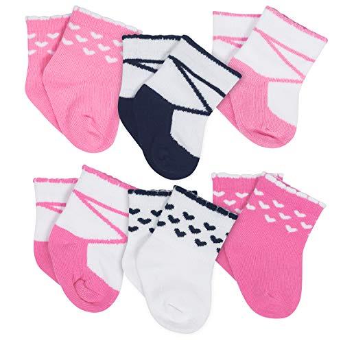 Gerber Unisex Baby 6 Pack Socks