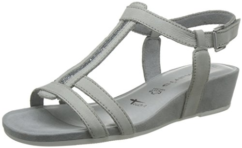 Tamaris 1-1-28209-28/001-001 - Sandalias de vestir para mujer Grau(Cloud)