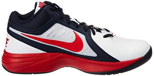 Nike The Overplay VIII - Zapatillas para hombre, color blanco