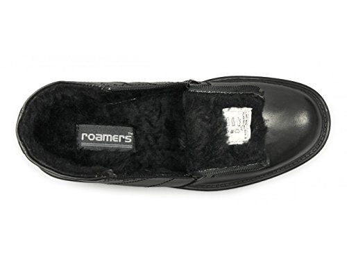 Roamer - Botas para hombre Negro negro
