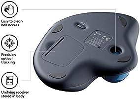 4b8b96a7297 Amazon.com: Logitech M570 Wireless Trackball Mouse: Computers ...