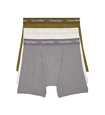 Calvin Klein Underwear Men's Cotton Classics 3 Pack Boxer Briefs