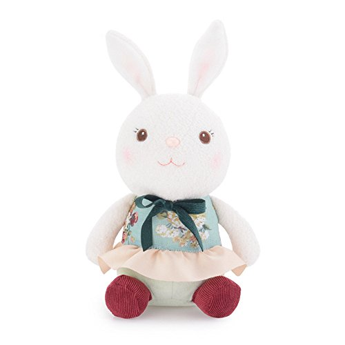Oldeagle Easter Stuffed Plush Animal Dolls Lovely Cute Bunny Rabbit Collection Toys Kids Girls Gift (B)