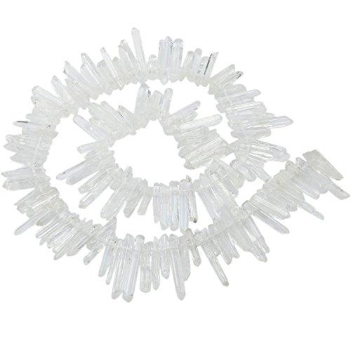 Rock Crystal Quartz Bead - 8