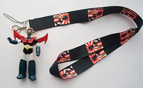 "3.5"" Mazinger Hard Rubber Mascot with Lanyard"