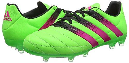 Versol Adidas Rosimp 16 Ace fútbol Hombre Rosa de Negro para FG Negbas AG Botas Leather Verde 2 6r65wqZ