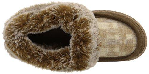 Woolrich Kvinners Høsten Ryggen Tøffel Chinchilla / Camo Ull