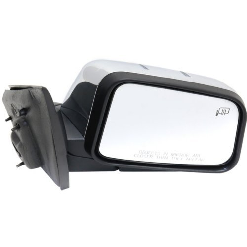 Mirror for LINCOLN MKX 07-07 RH Power Manual Folding Heated w//Memory and Puddle Light Chrome