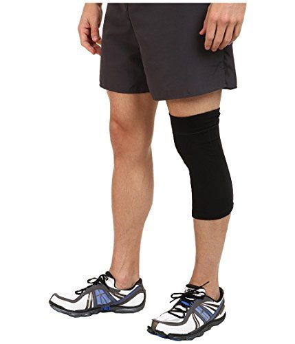 Beautyko USA Men& 039;s Thera Copper Athlete InspiROT Endurance Enhancing Compression Knee Sleeve (1 Pair), schwarz by Beautyko USA
