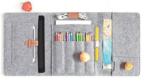 Lucky Sign B5 Estuche para lápices - Gris: Amazon.es: Juguetes y juegos