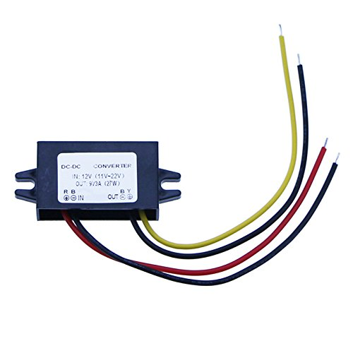 DC/DC Converter 12V Step down to 9V 3A 27W Power Supply Module Electronic Transformer