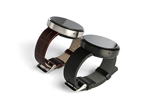 Simptech D360 Bluetooth Smart Watch Titanium Alloy Case Support Android Phone Color Black
