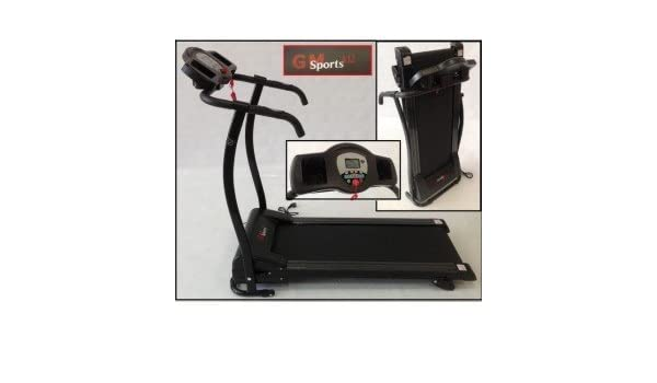 Cinta de Correr motorizada GS Sport A12 1100W Plegable: Amazon.es ...