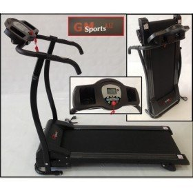 Cinta de correr motorizada GS Sport A12 1100W plegable: Amazon.es ...