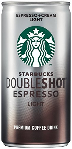 Starbucks Doubleshot Espresso Plus Cream Light, 6.5 Ounce (24 pack)