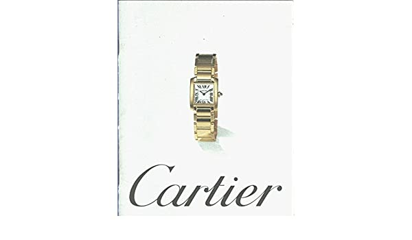 Catalogo relojes Cartier para 1997 Textbook Binding – 1997