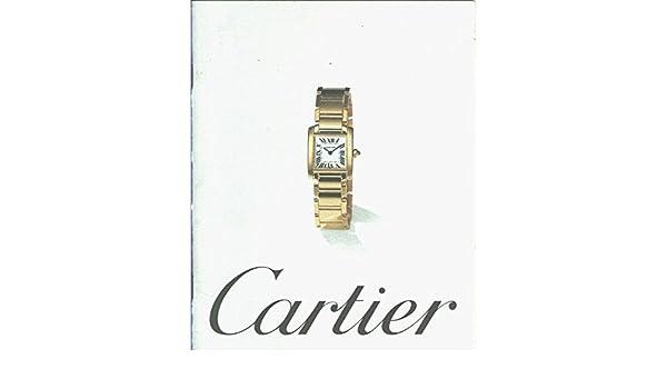 Catalogo relojes Cartier para 1997 Textbook Binding – 1997