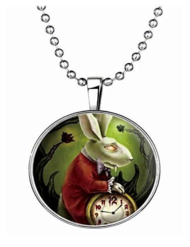 Luck Wang Woman's Unique Fashion Personality Cute Rabbit Necklace (Cute Halloween Fundraising Idea)