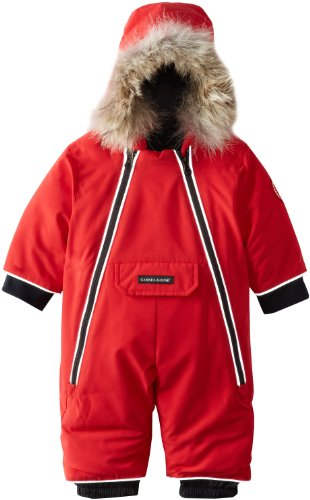 Canada Goose Baby Lamb Snowsuit, Red, 0-3 by Canada Goose
