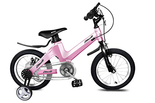 Nice C BMX Kids Bike with Dual Disc Brake for Boy and Girl 12-14-16-18 inch Training Wheels (14