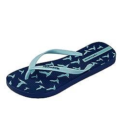Hotmarzz Women S Seagull Birds Printing Summer Beach Slippers Tong Sandals Flat Slides Size 9 B M Us 40 Eu 41 Cn Seagull Blue